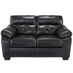 Benchcraft Bastrop Loveseat in Midnight DuraBlend