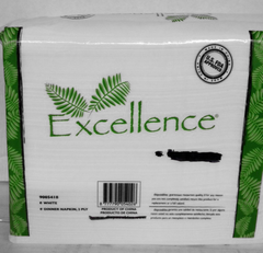 EXCELLENCE Dinner Napkins 2 ply 15X17 Good Quality