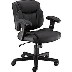 High Back Black WB Designer Mesh Executive Swivel Office Chair with Leather Padded Seat