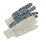 Men's PVC-Dotted Canvas Gloves