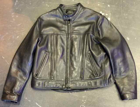 VINTAGE LEGACY LEATHER RIDING JACKET by JOHNSON LEATHERS