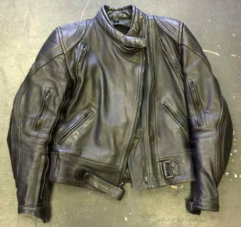 VINTAGE LEGACY LEATHER MOTOCROSS JACKET by MOTOBOSS