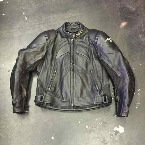VINTAGE LEGACY LEATHER MOTOCROSS JACKET by TEKNIC