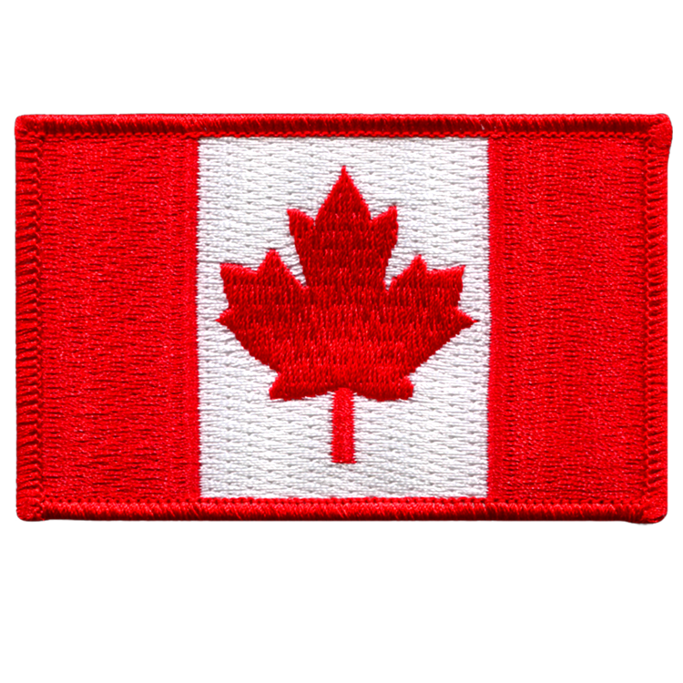 Canada Flag - Space Patches