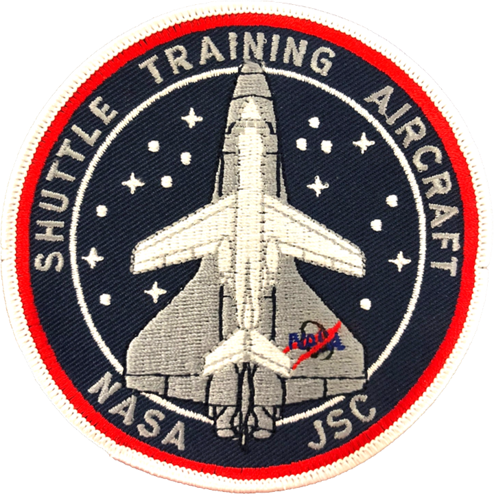 Shuttle Training Aircraft - Space Patches