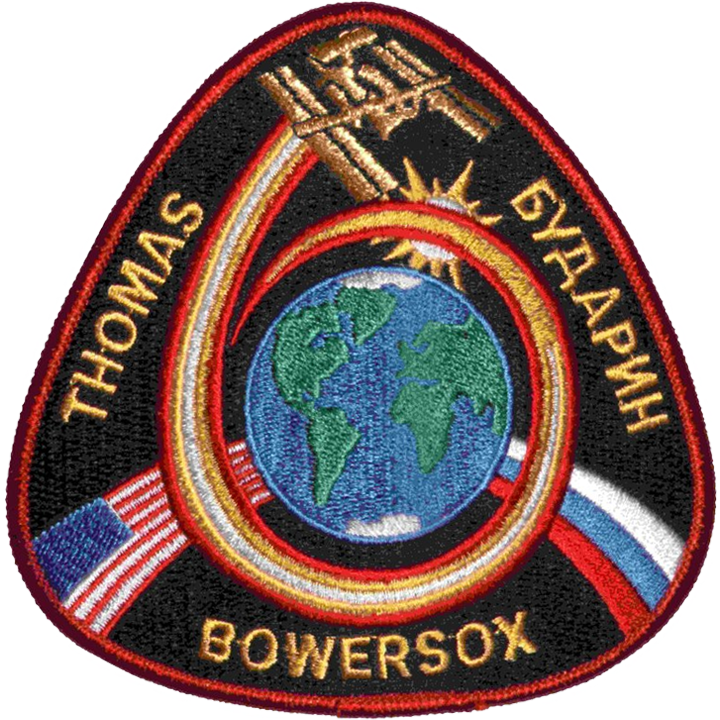 Expedition 6 Crew Change - Space Patches