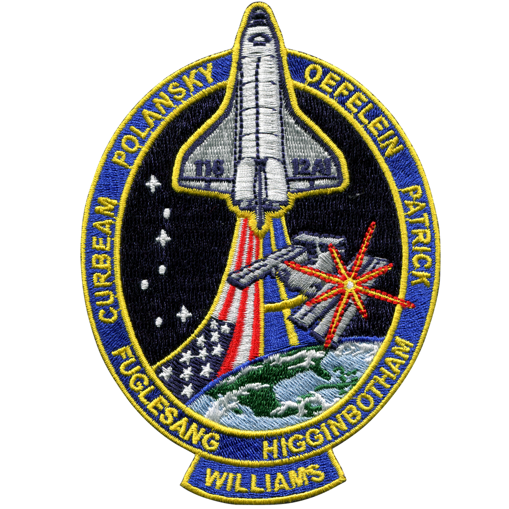 STS-116 - Space Patches