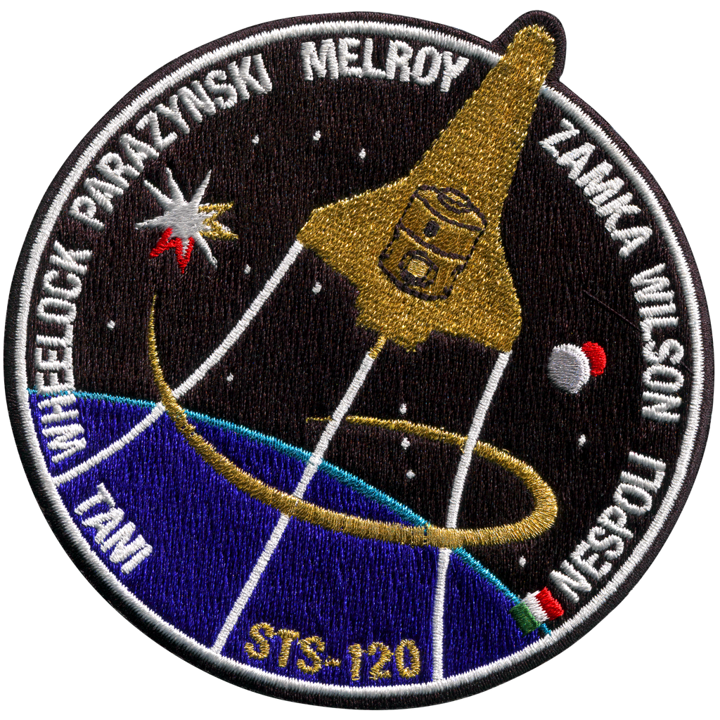 STS-120 - Space Patches