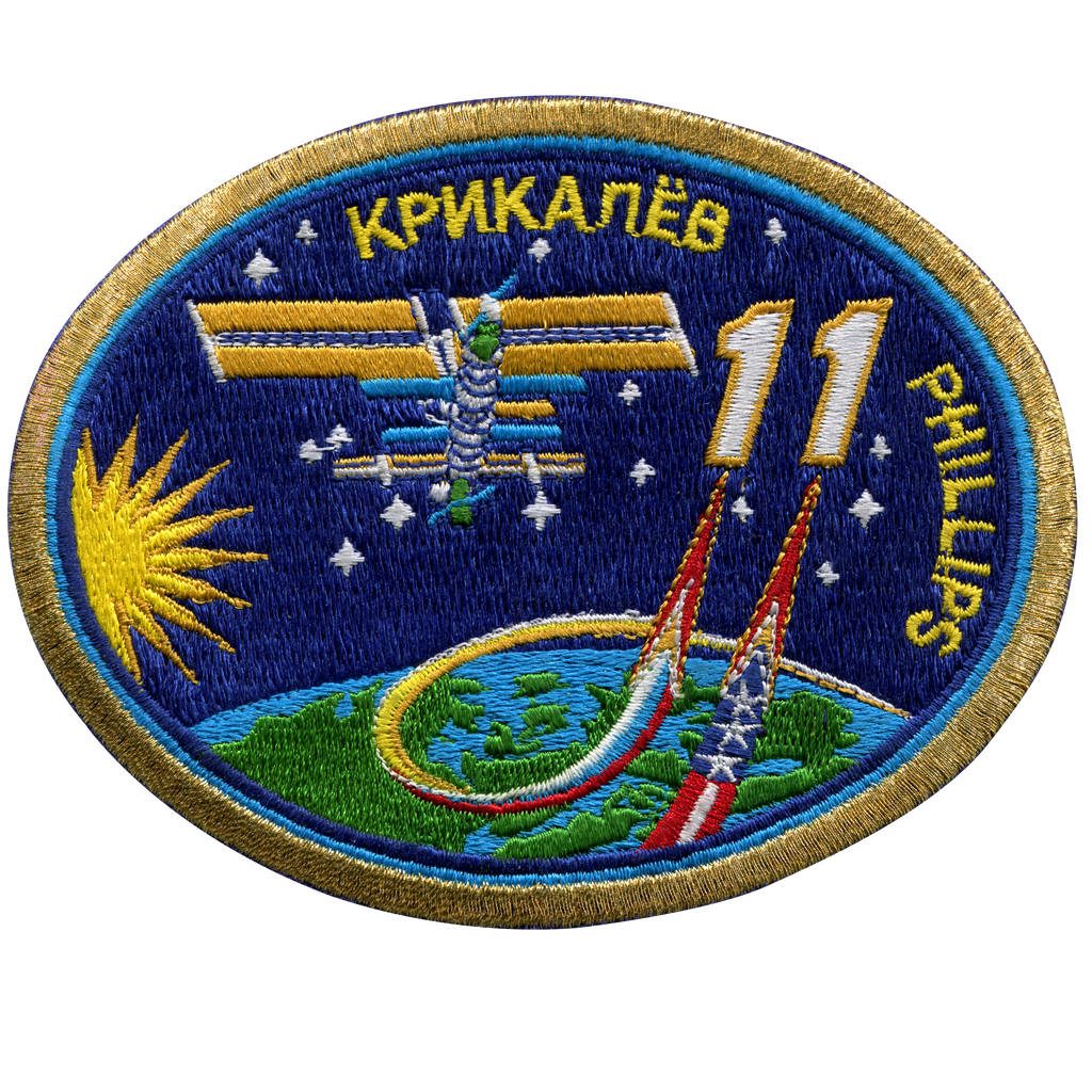 Expedition 11 - Space Patches