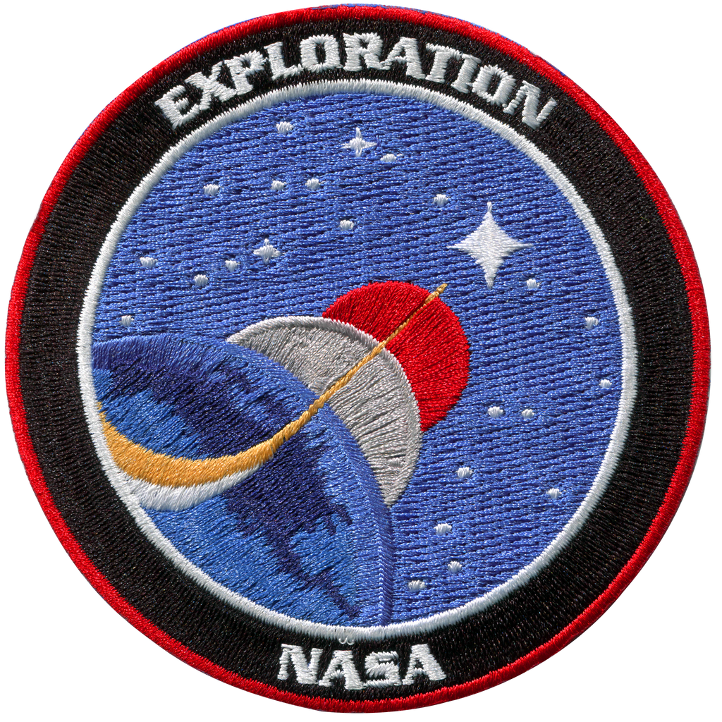 Nasa Exploration - Space Patches