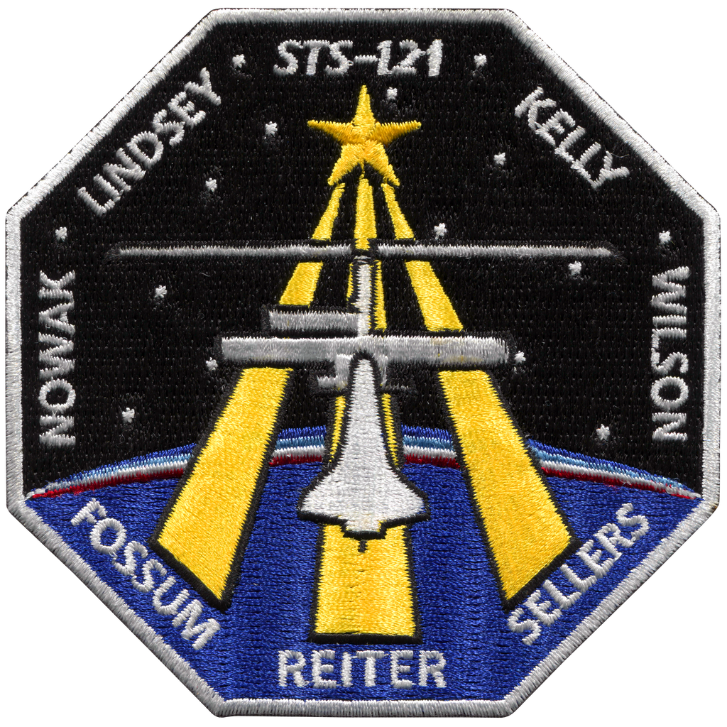 STS-121 - Space Patches