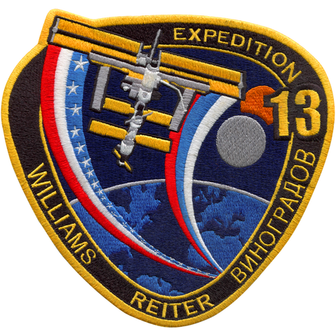 Expedition 13 Back-Patch