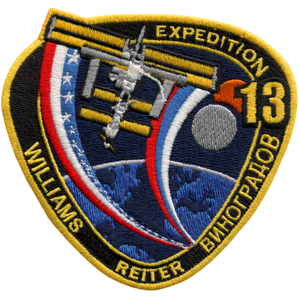 Expedition 13 - Space Patches