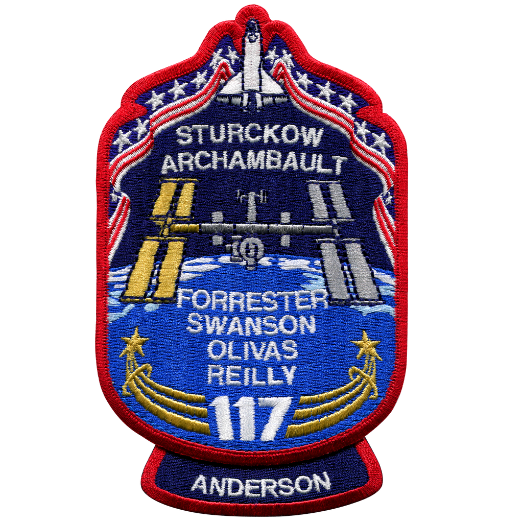 STS-117 - Space Patches