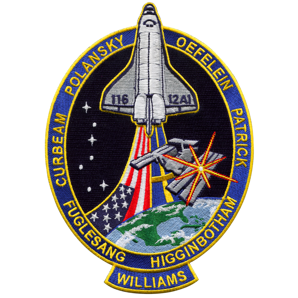 STS-116 Back-Patch - Space Patches