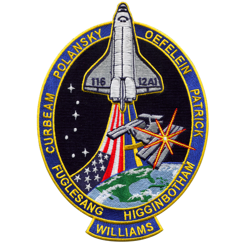 STS-116 Back-Patch