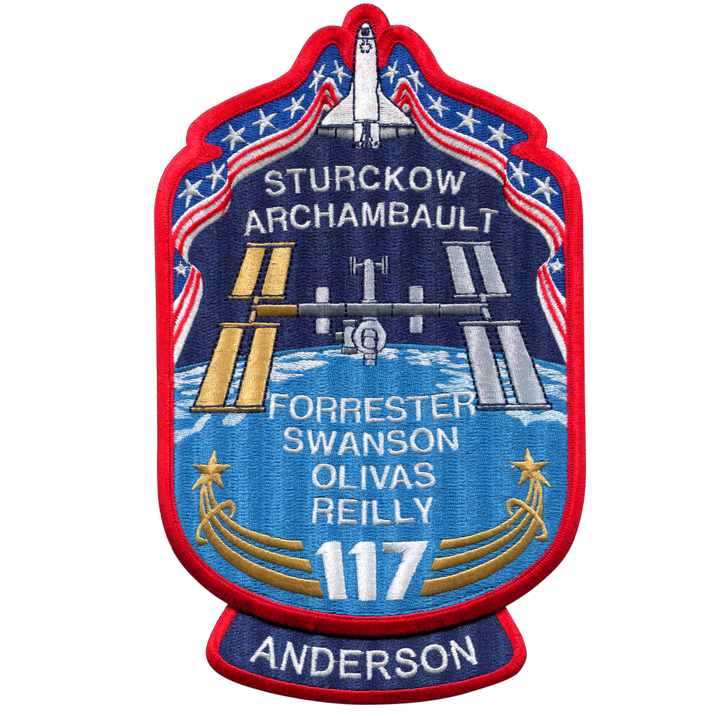 STS-117 Back-Patch - Space Patches