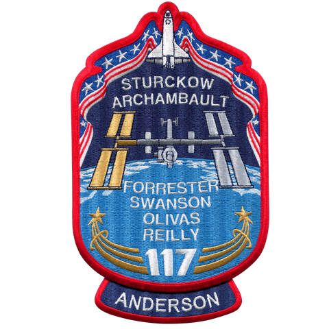 STS-117 Back-Patch