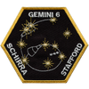 Gemini 6 - Space Patches