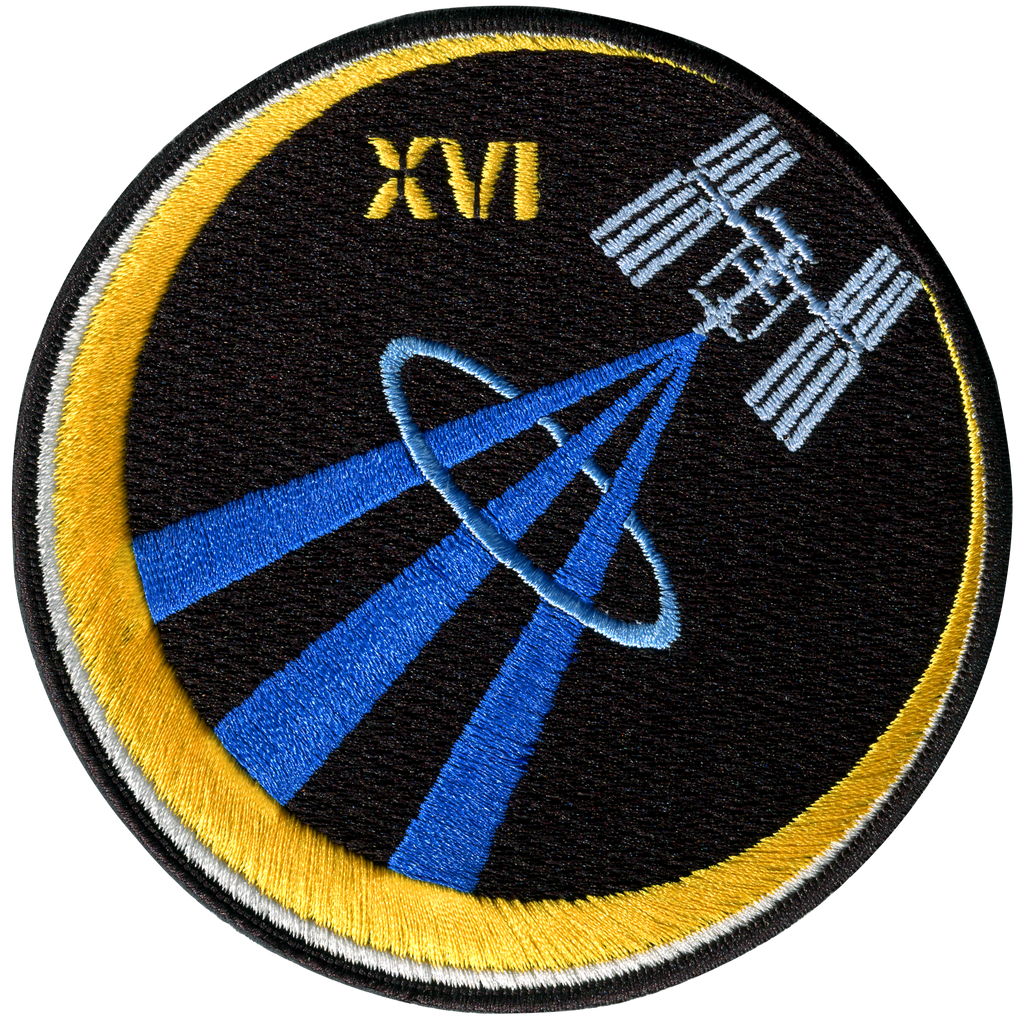 Expedition 16 - Space Patches
