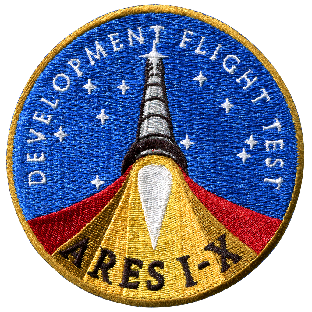 Ares I-X - Space Patches