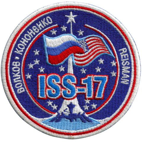 Expedition 17 (First Crew) - Space Patches