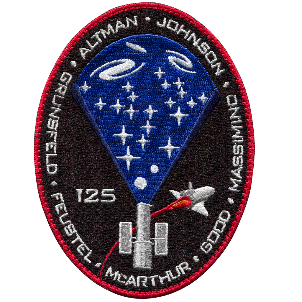 STS-125 - Space Patches