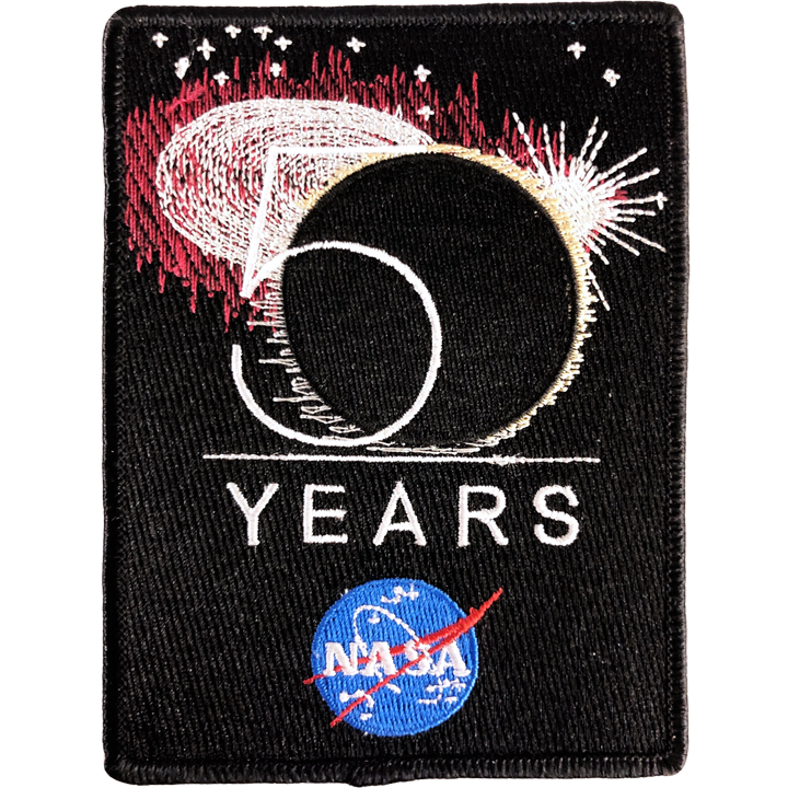 NASA 50th Anniversary - Space Patches
