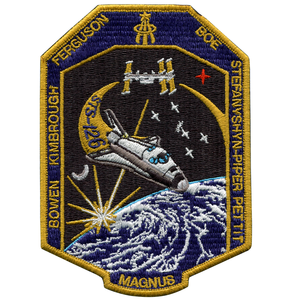 STS-126 - Space Patches