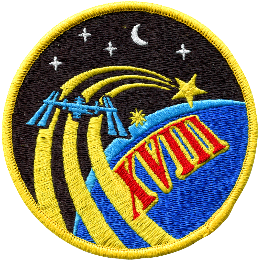 Expedition 18 - Space Patches