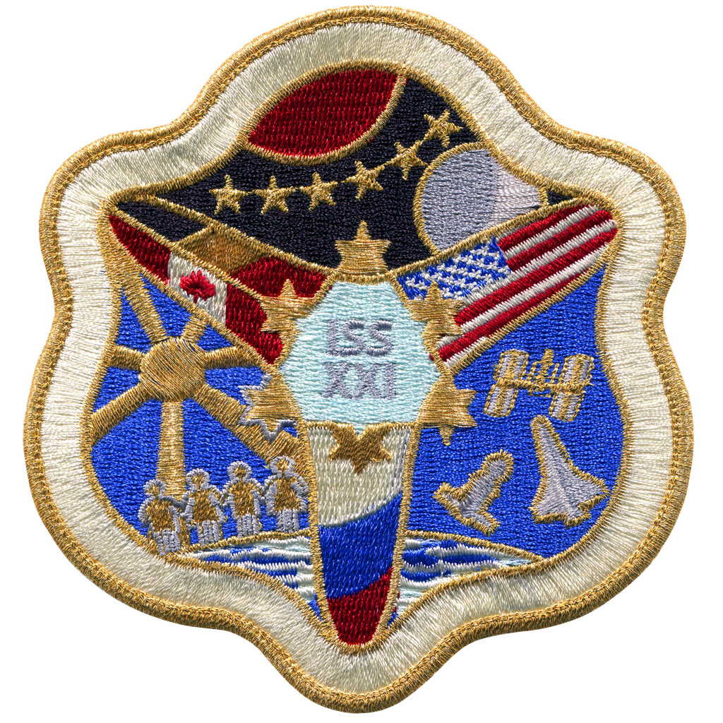 Expedition 21 - Space Patches