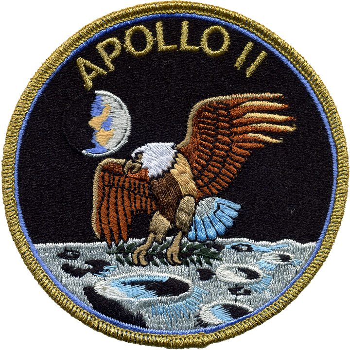 Apollo 11 - Space Patches