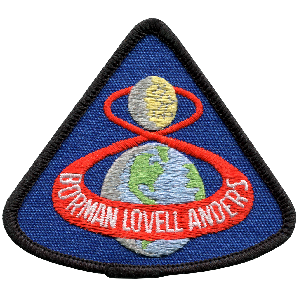 Apollo 8 Souvenir Version - Space Patches