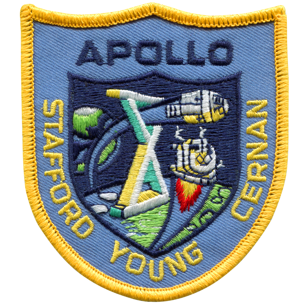 Apollo 10 Souvenir Version - Space Patches