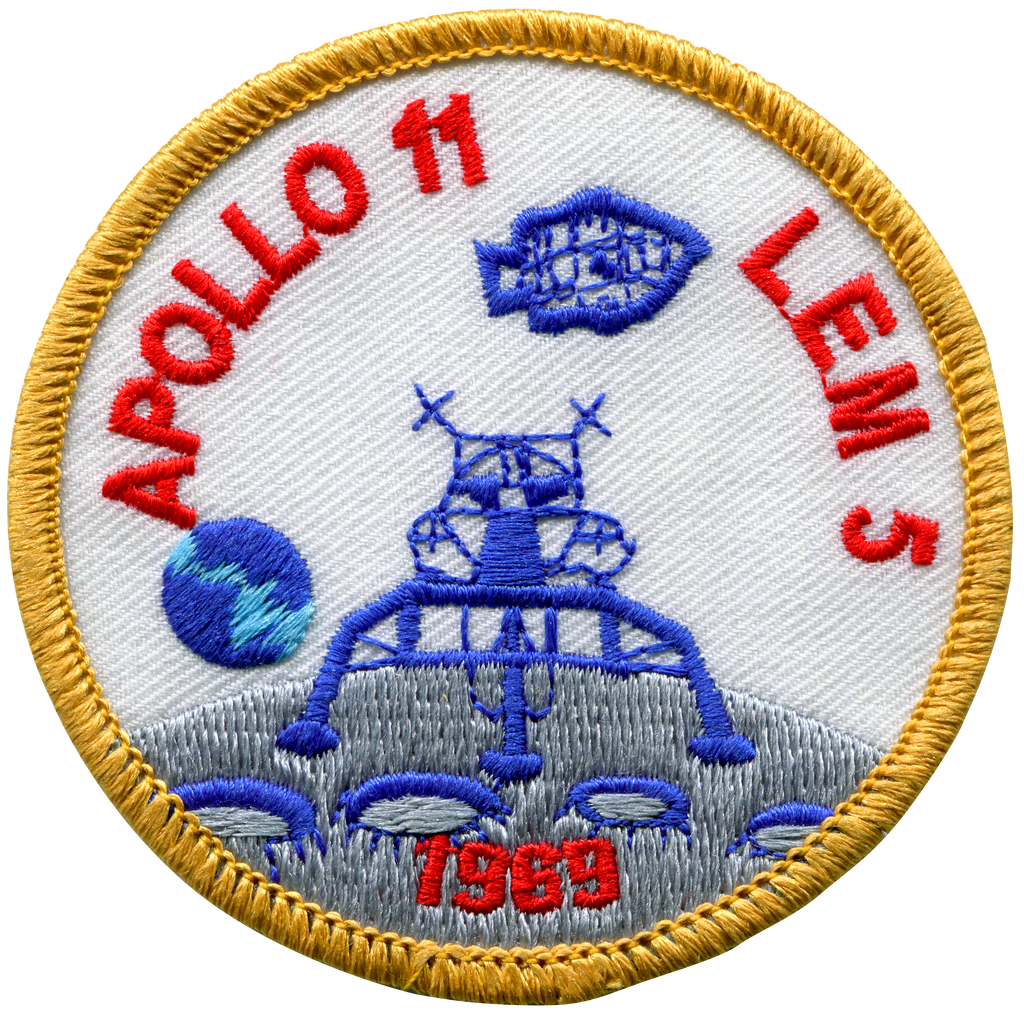 Apollo 11-Lem 5 - Space Patches