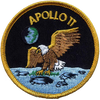 Apollo 11 w/Velcro - Space Patches
