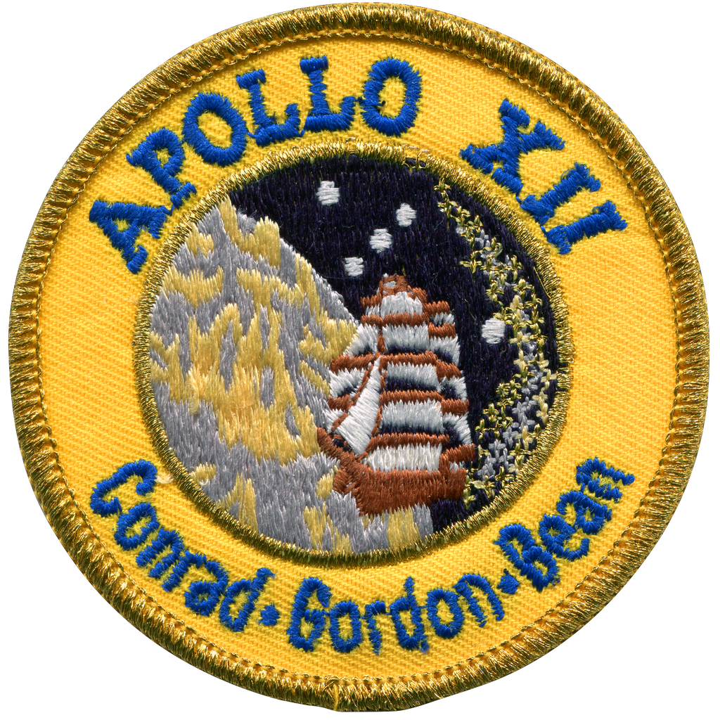 Apollo 12 Souvenir Version - Space Patches