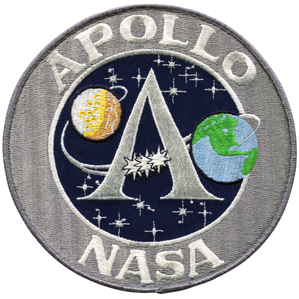 "Apollo ""A"" Program 8'' Back Patch"