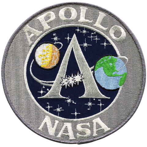 Apollo Program Back Patch