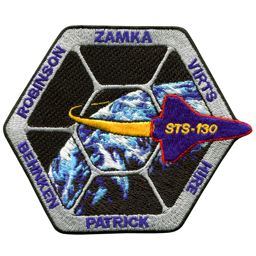 STS-130 - Space Patches