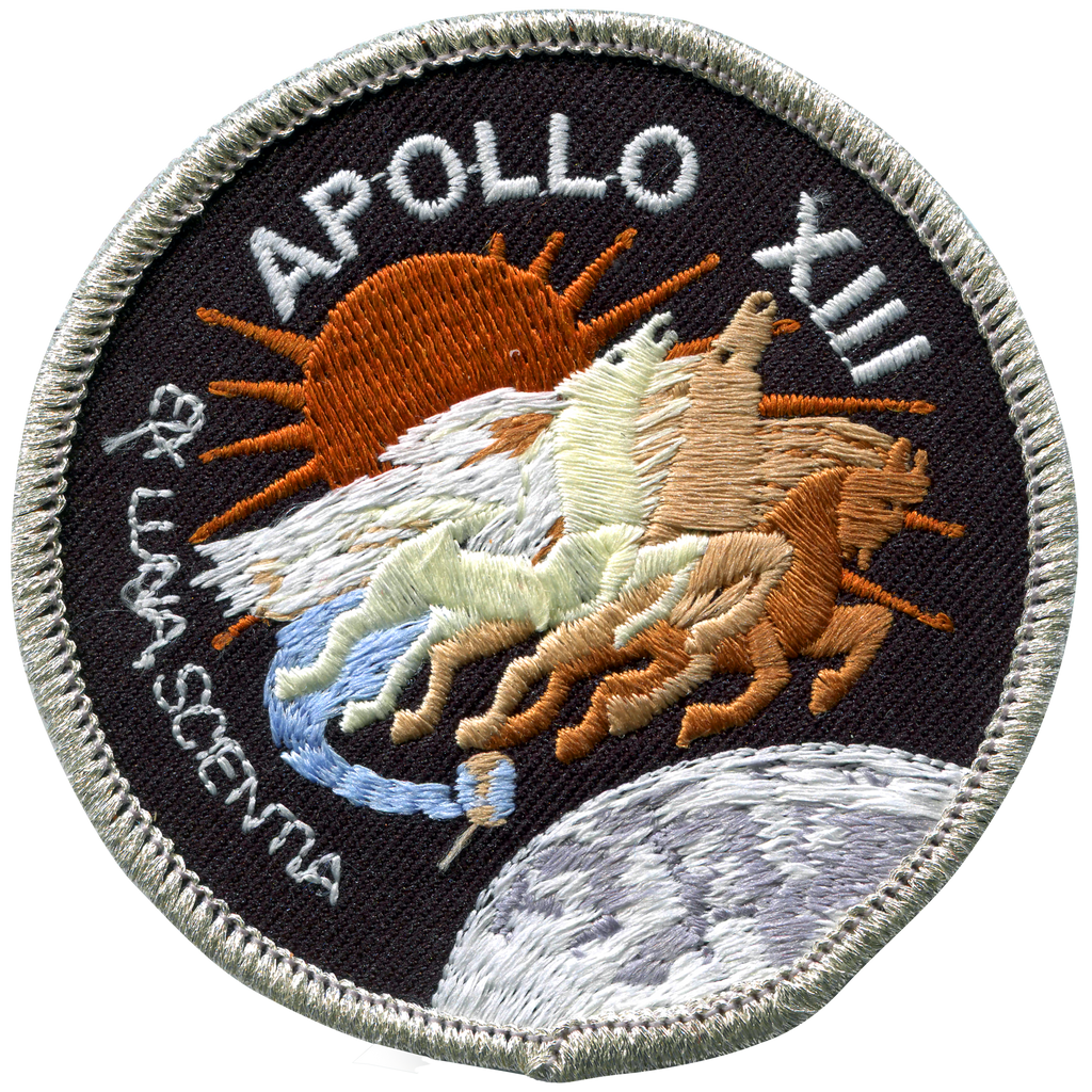 Apollo 13 Souvenir Version - Space Patches