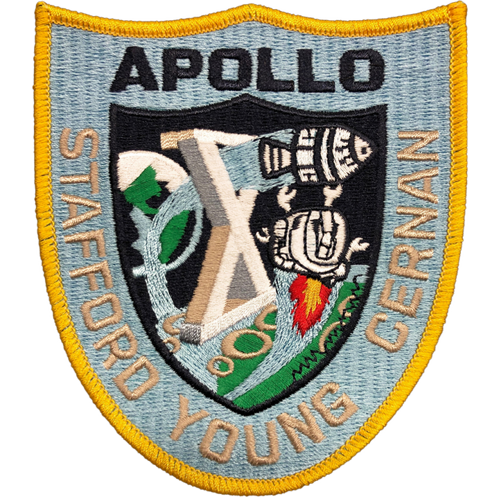Apollo 10 - Space Patches