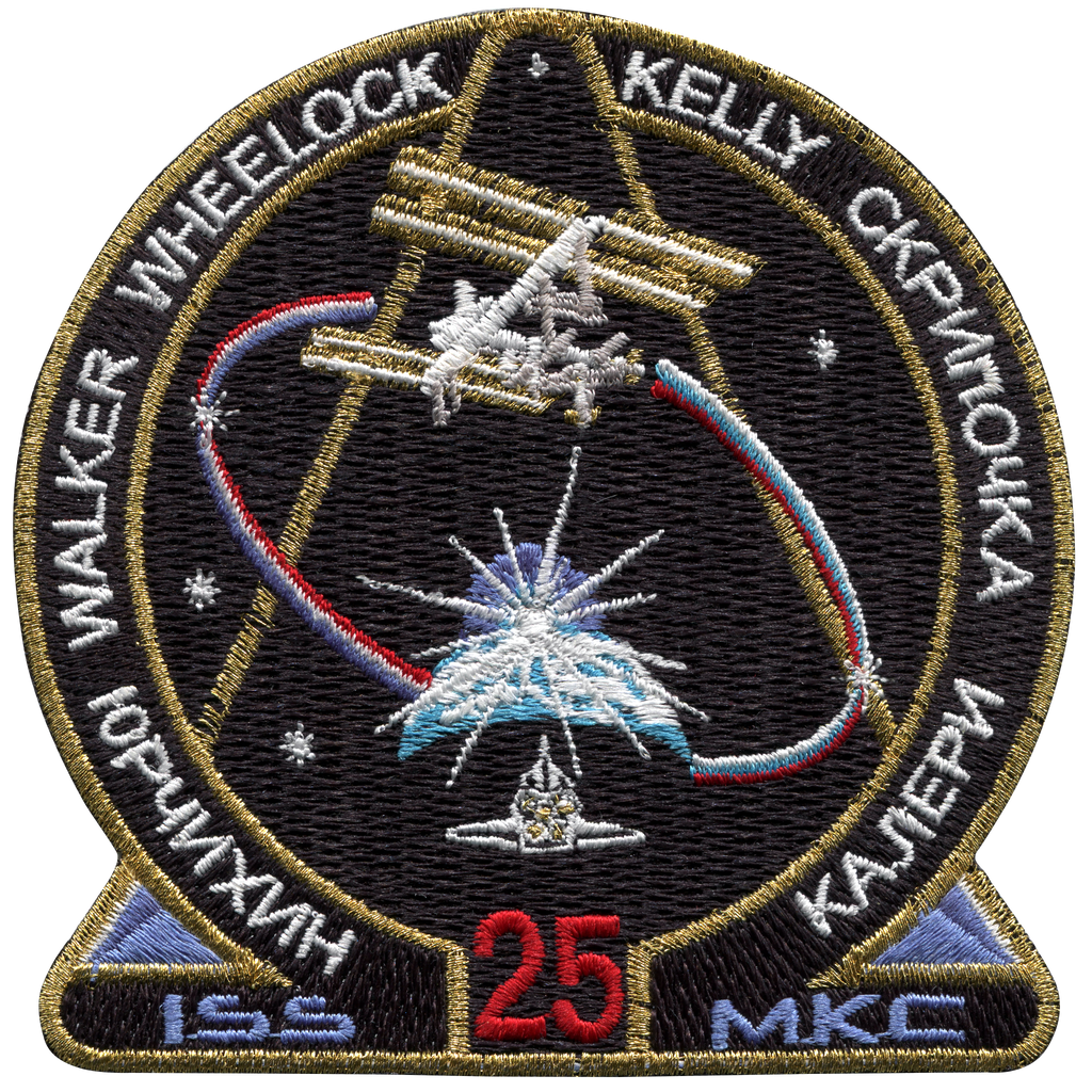 Expedition 25 - Space Patches