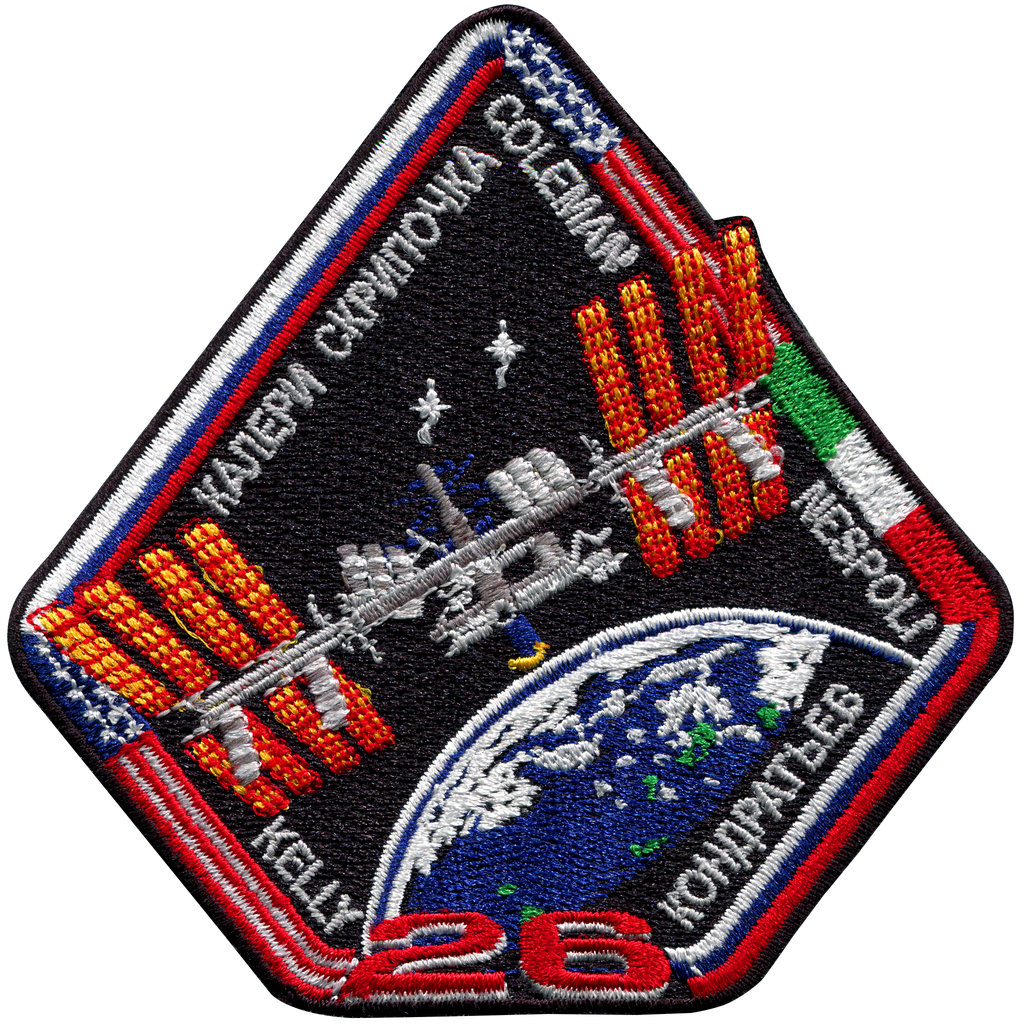 Expedition 26 - Space Patches