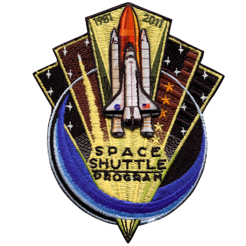 Shuttle Program 1981-2011 Back-Patch