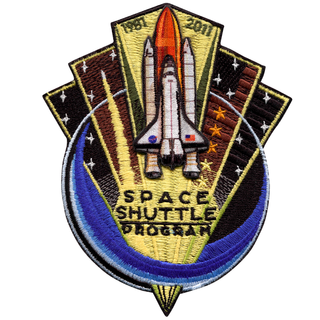 "Shuttle Program Commemorative 5"" - Space Patches"