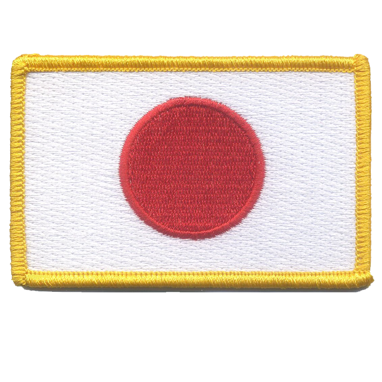 Japan Flag - Space Patches