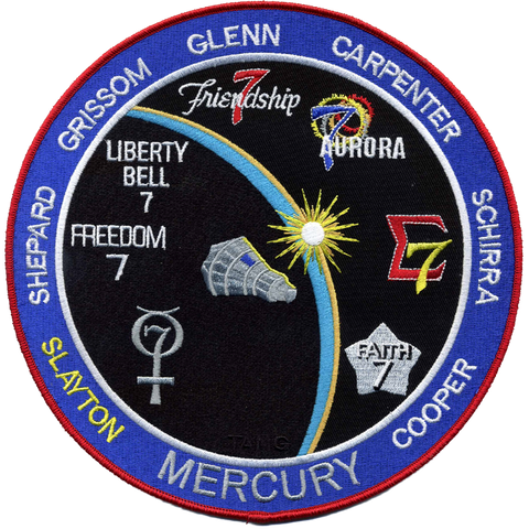 Mercury Commemorative Back-Patch