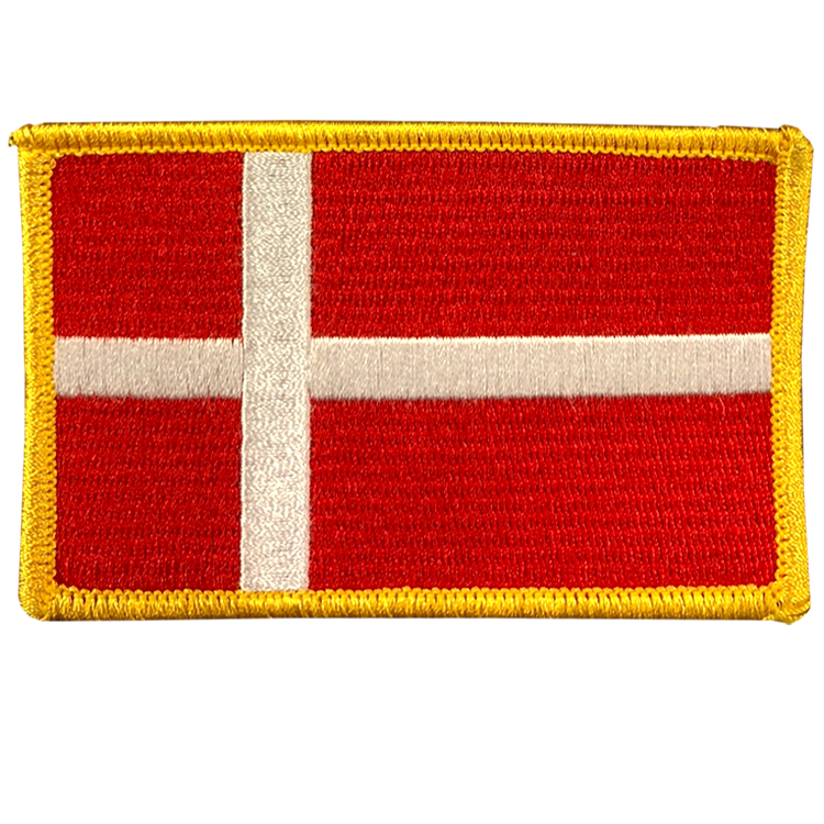 Denmark Flag - Space Patches