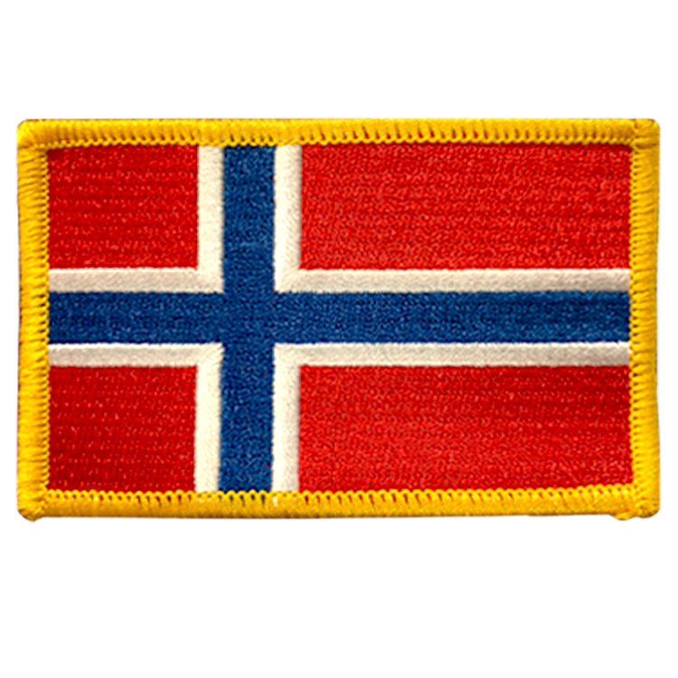 Norway Flag - Space Patches